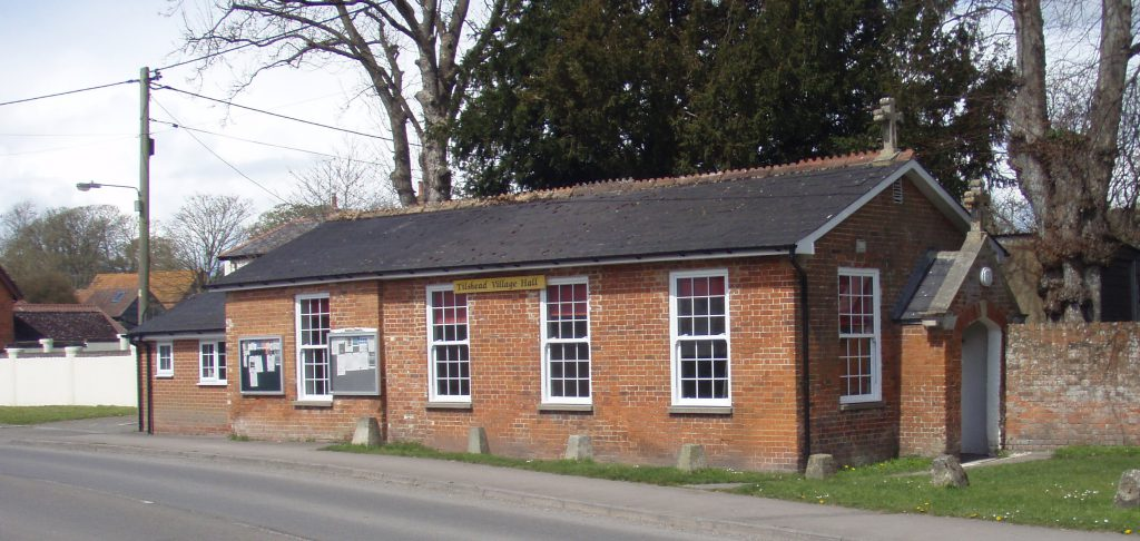 external picture of village hall