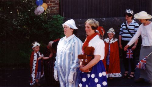 Two of the many taking part in the parade - Photograph: Bet Druce