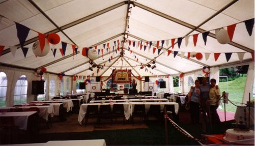 The Marquee - Photograph: Bet Druce
