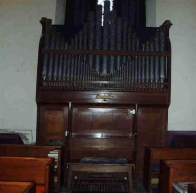 Willis 'Country' Organ.  The Organ dates from the late 19th century, designed to be easily played. It was built in Upton Scudamore, near Warminster