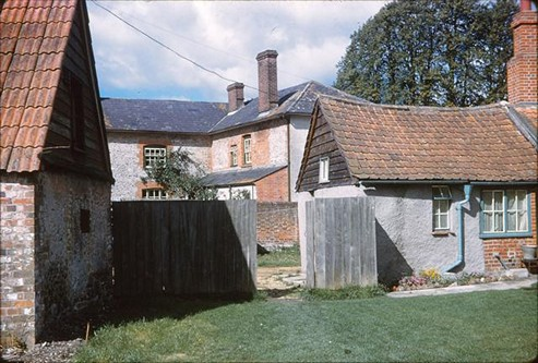 Rear of Noads House, 1961