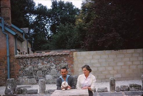 Jack Mavrogodarto and Mrs Brown, 1962