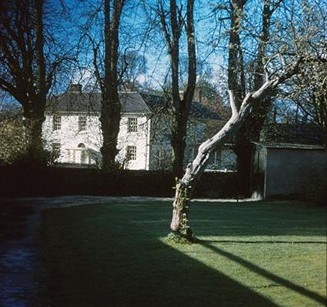 Noads House taken from the Old Vicarage, 1962