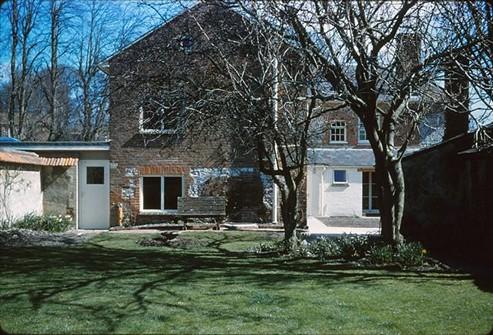 Noads House garden, 1962