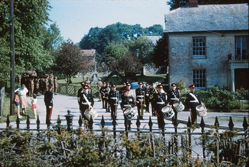 South Nottingham Hussars at the Fete, 1962