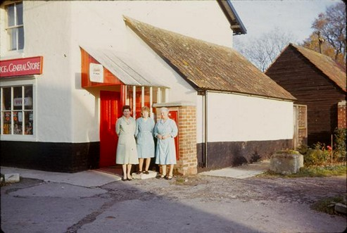 Mrs Rowell, Anna & Mrs Waldron, 1963