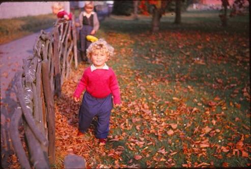 Kicking Leaves, October 1964