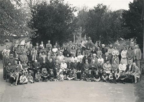 Village photograph, Silver Jubilee, June 1977 - Photograph: ©Peter Brown, Bulford