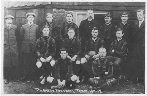 Tilshead Football Team, 1911-1912