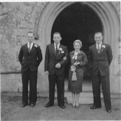 Mary Lawes' wedding