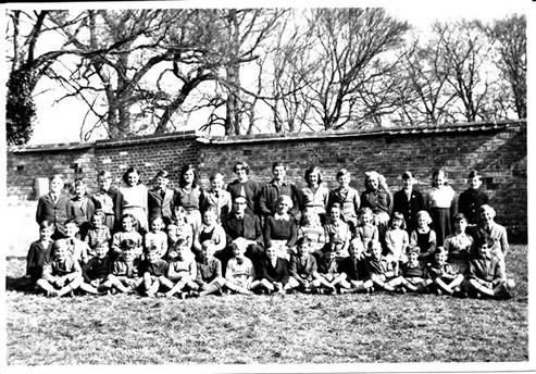 Tilshead School, mid 1950s