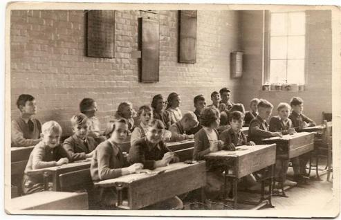 Tilshead School, 1940