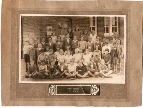 Tilshead School, 1946
