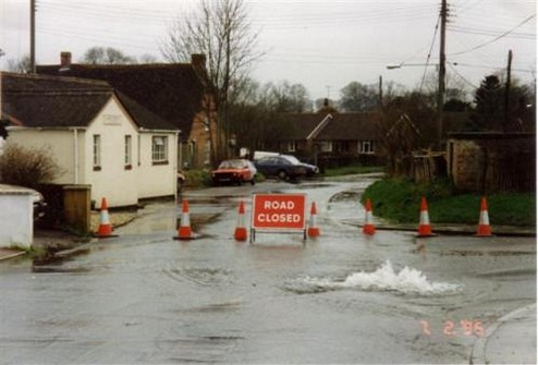 Candown Road Flooded in 1995