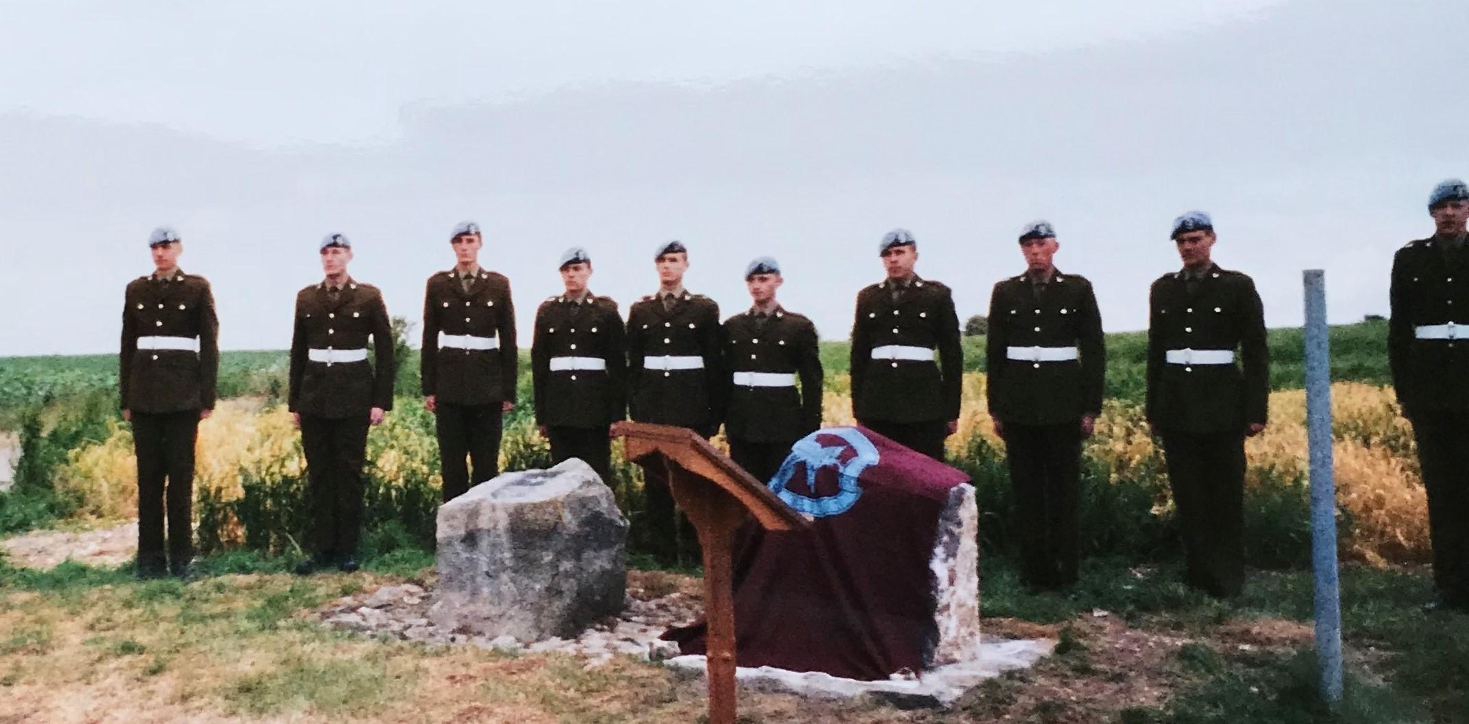2003 GPR Memorial Unveiling