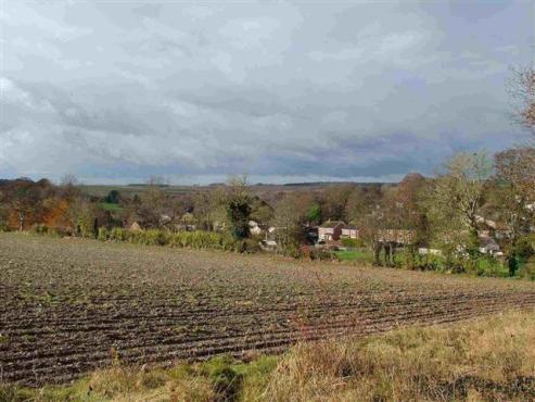 A view towards Westdown in Tilshead